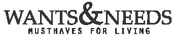 Wants & Needs logo