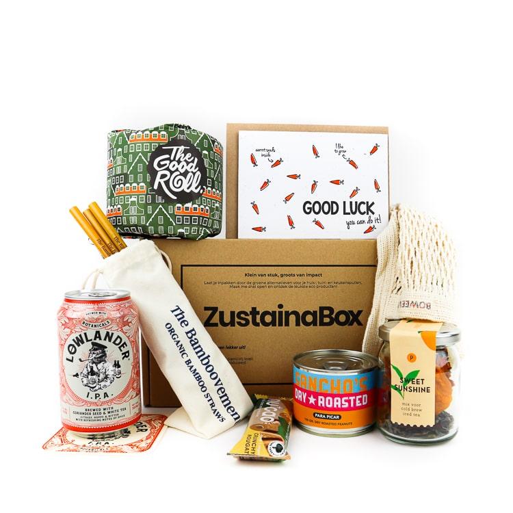 Zustainabox BorrelBox ecologisch cadeau