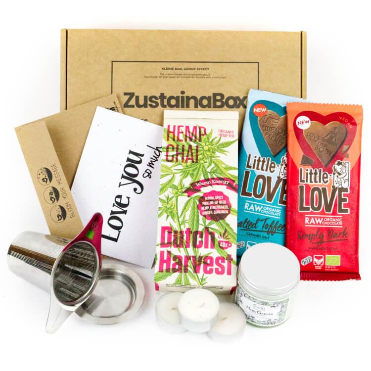 Zustainabox Her High Tea Box ecologisch cadeau