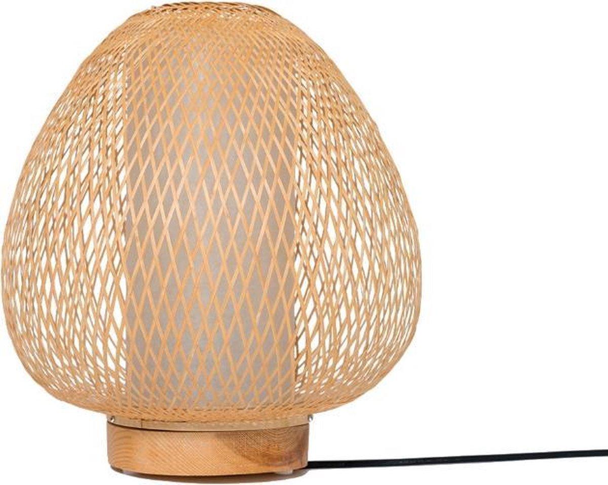 Ay Illuminate - Twiggy AW - Tafellamp - Bamboe - Naturel - Ø30cm