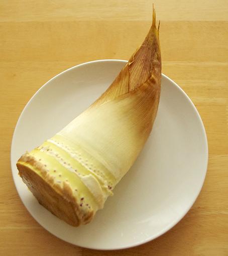 Eetbaar bamboescheuten