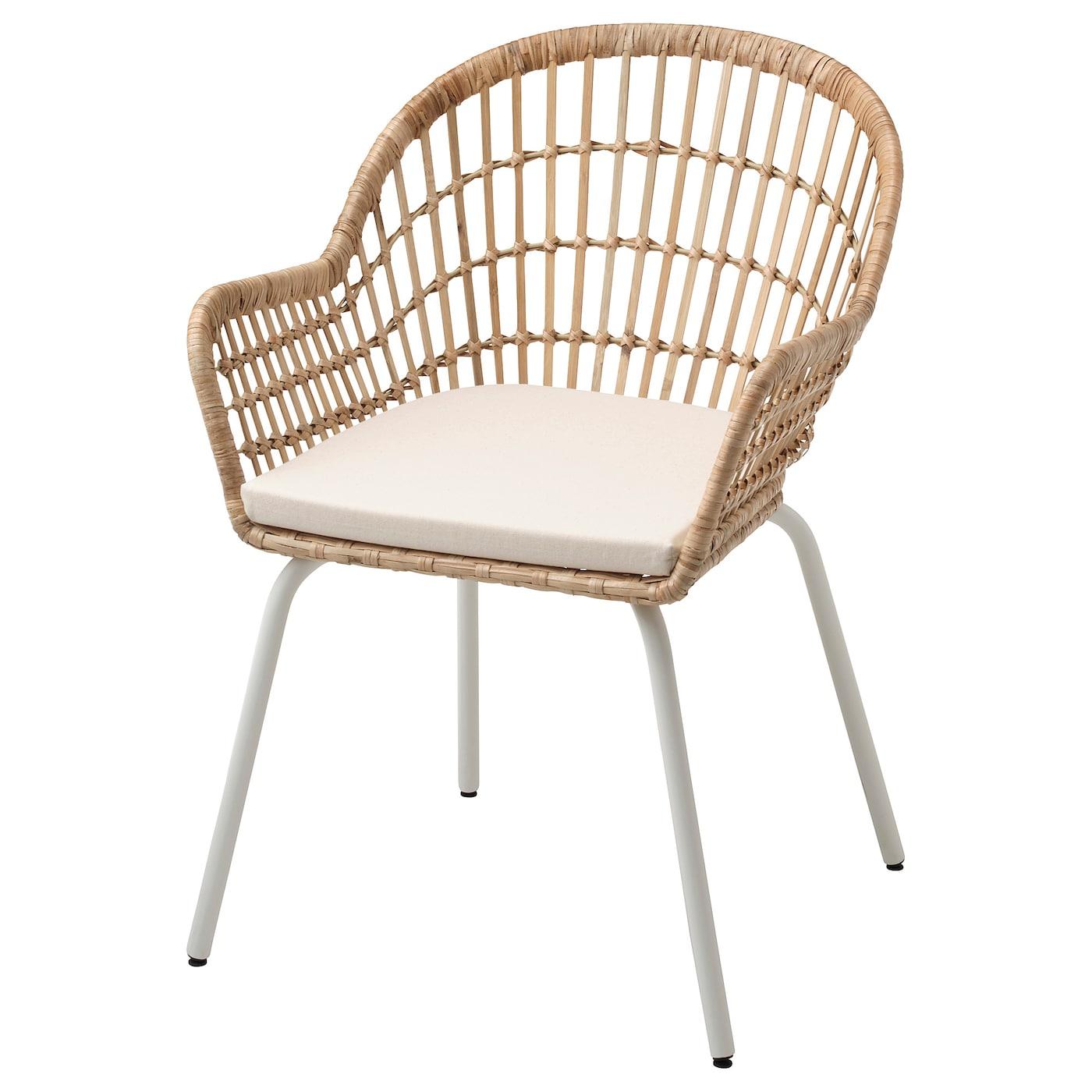 IKEA - NILSOVE / NORNA Stoel met stoelkussen