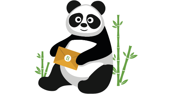 Bamboebaas Nieuwsbrief Panda