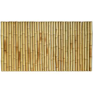 Bamboe schutting naturel 180 x 100 cm x 35-45 mm
