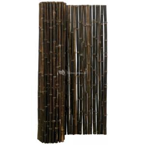 Bamboemat zwart 250 x 150 cm x 18-22 mm