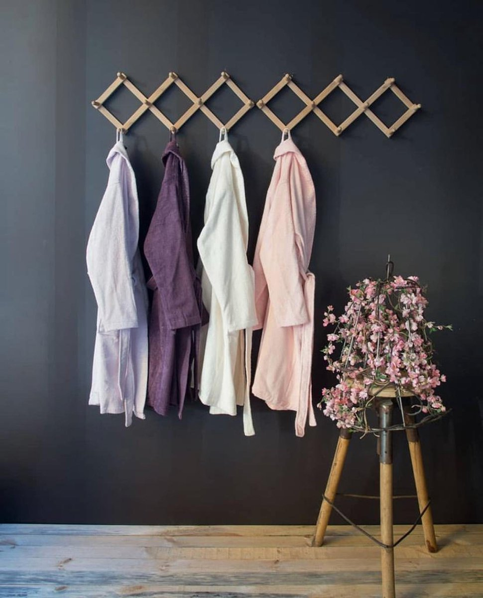 Issimo home - Bamboe Badjas - Vrouw - Pink - M - Valencia