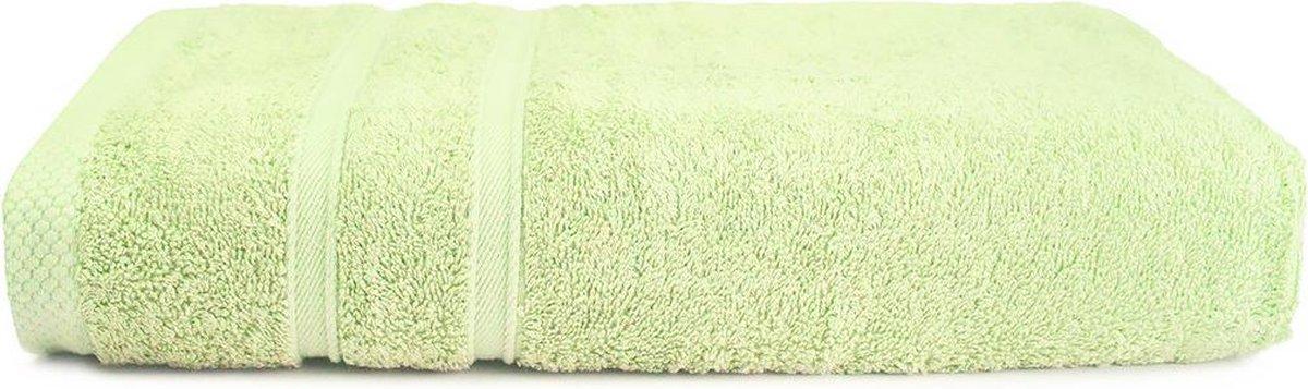 The One Voordeel Handdoeken Bamboo Olijfgroen 50x100cm 5 stuks