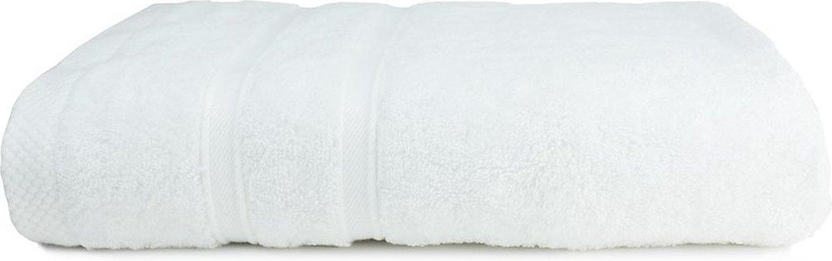 The One Voordeel Handdoeken Bamboo Wit 50x100cm 5 stuks