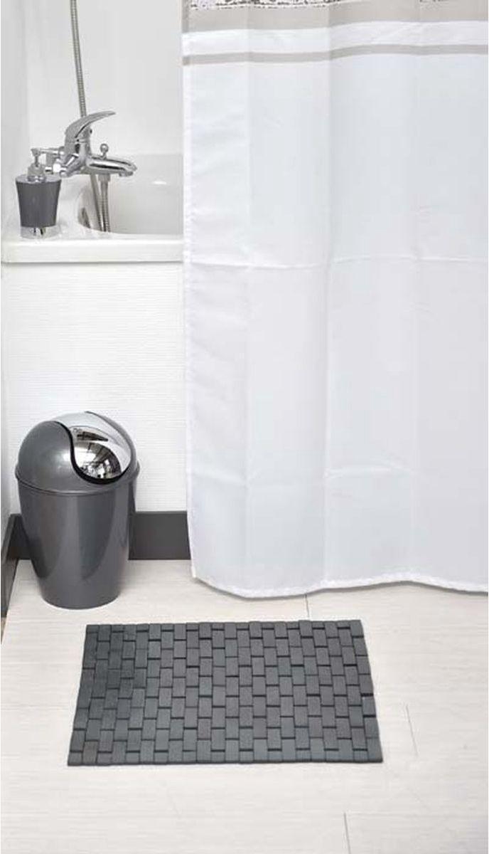 Bamboe Badmat/board - Donker Grijs - Voor douche of bad - Bamboe doucheplatform - 45x45cm - Zwembad - Sauna