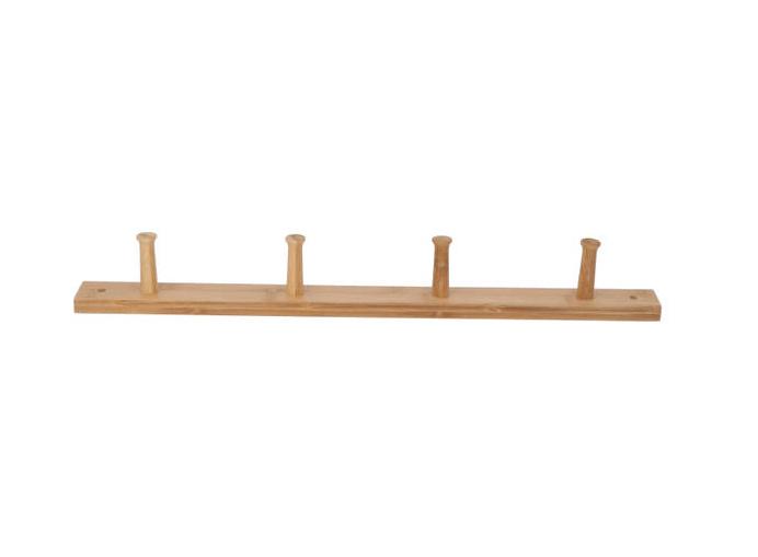 Bamboe deurkapstok hout look