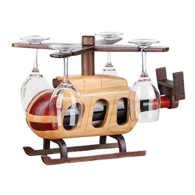 Bamboe wijnhelikopter