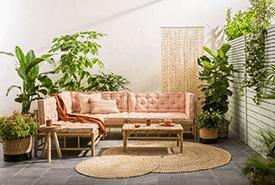 Tarifa loungeset van bamboe