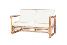Bamboe loungeset bankje