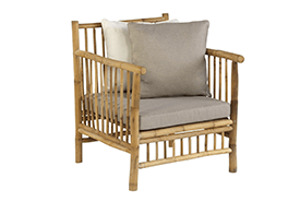 Exotan Bamboo Loungeset stoel