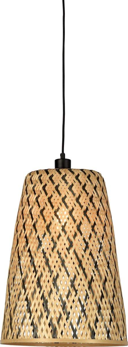 Good & Mojo Hanglamp - KALIMANTAN - Bamboe - Small - Product Met gloeilamp: Nee