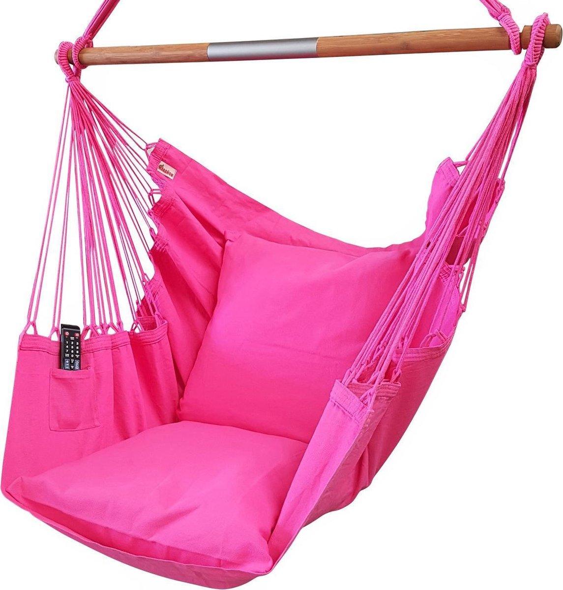 Hangstoel NewLine XL Roze geleverd zonder kussenslopen