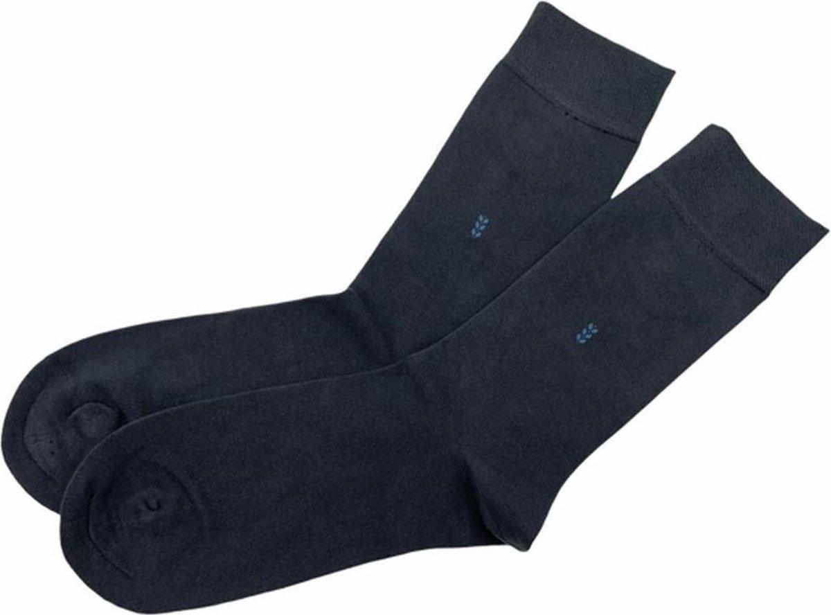 La Pèra Heren Sokken Classic Bamboe Set van 3 paar donker blauw - Maat 41-45