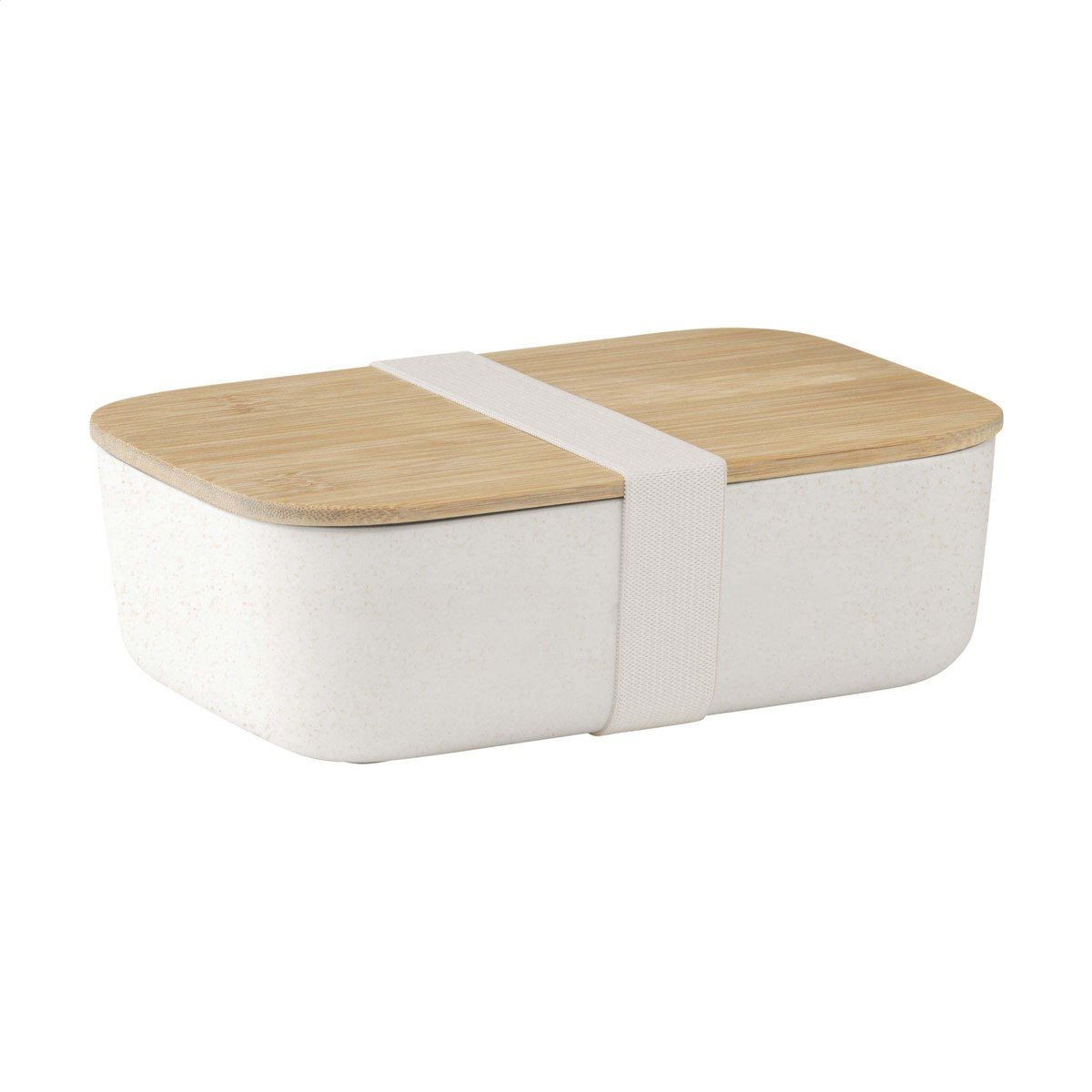 Retulp - Ecobox - Lunchbox - Bamboe - Wit - Lunch