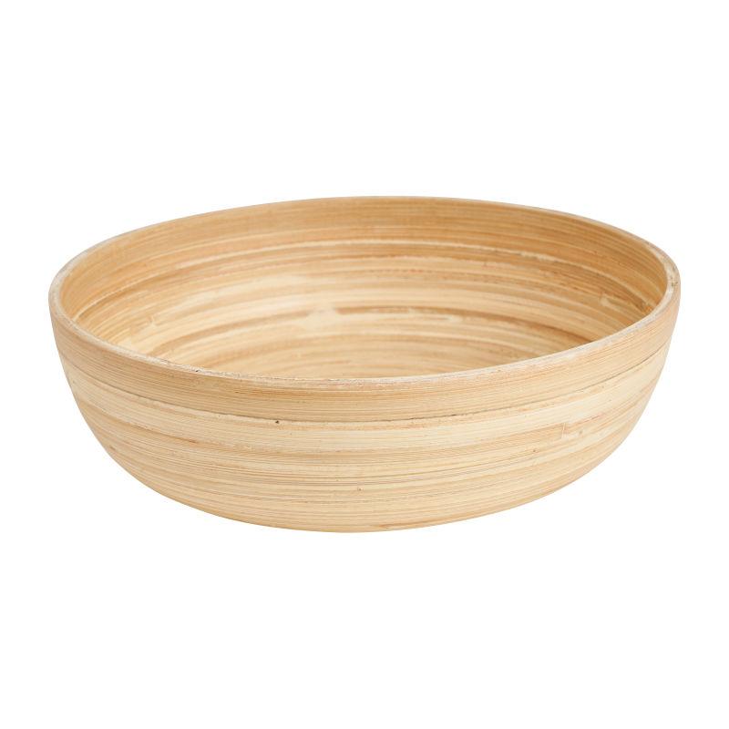 Schaal bamboe - ⌀25 cm