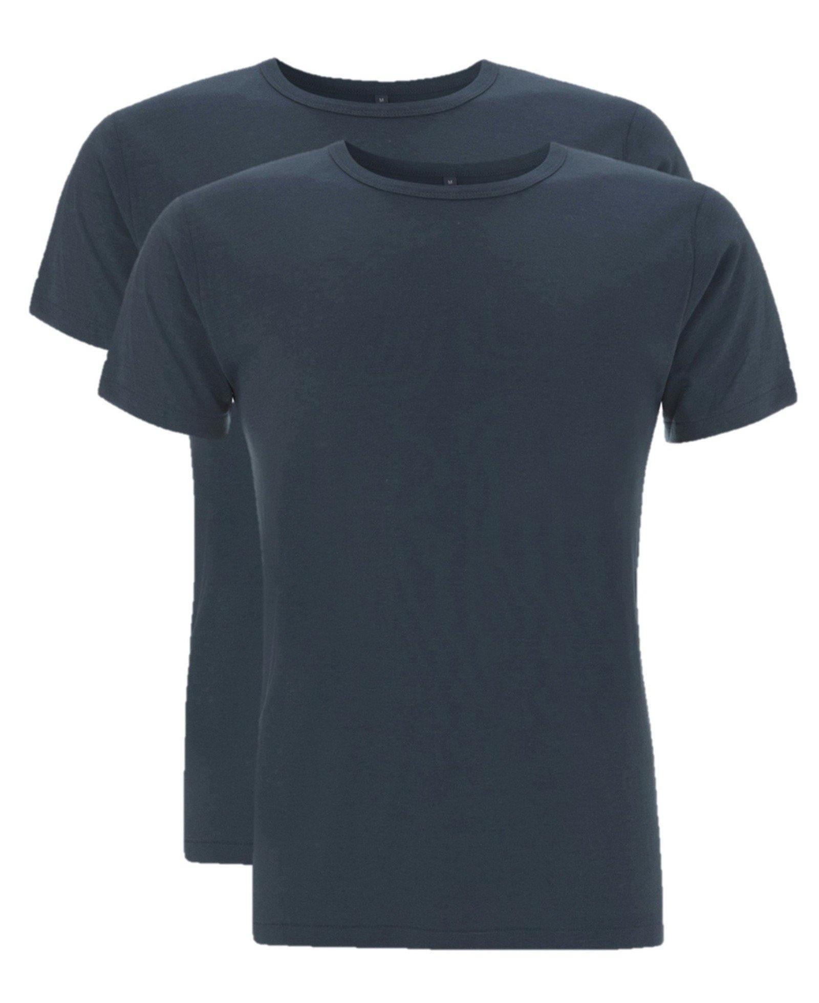 Bamboe t-shirt heren 2-pack | Cayboo