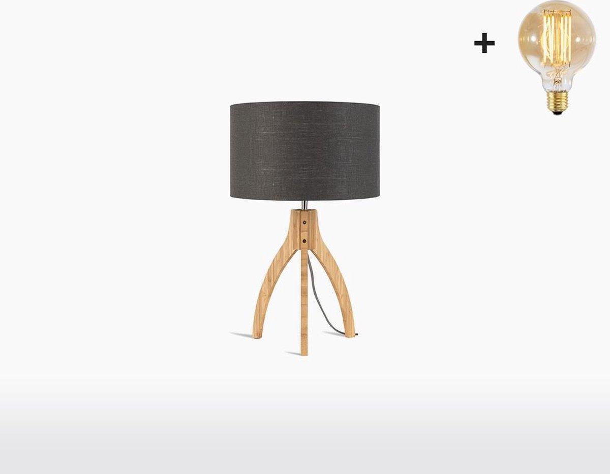 Good & Mojo Tafellamp - ANNAPURNA - Bamboe/linnen