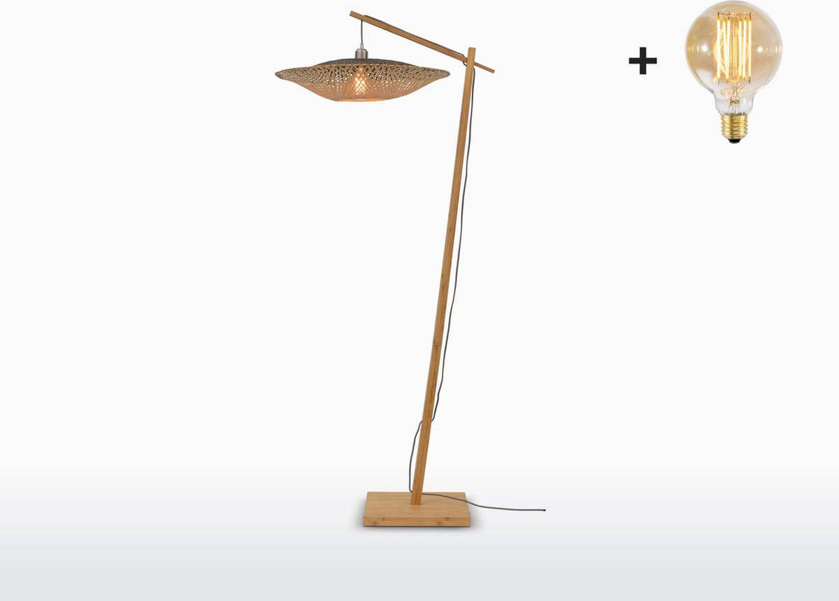 Good & Mojo Vloerlamp - KALIMANTAN - Bamboe