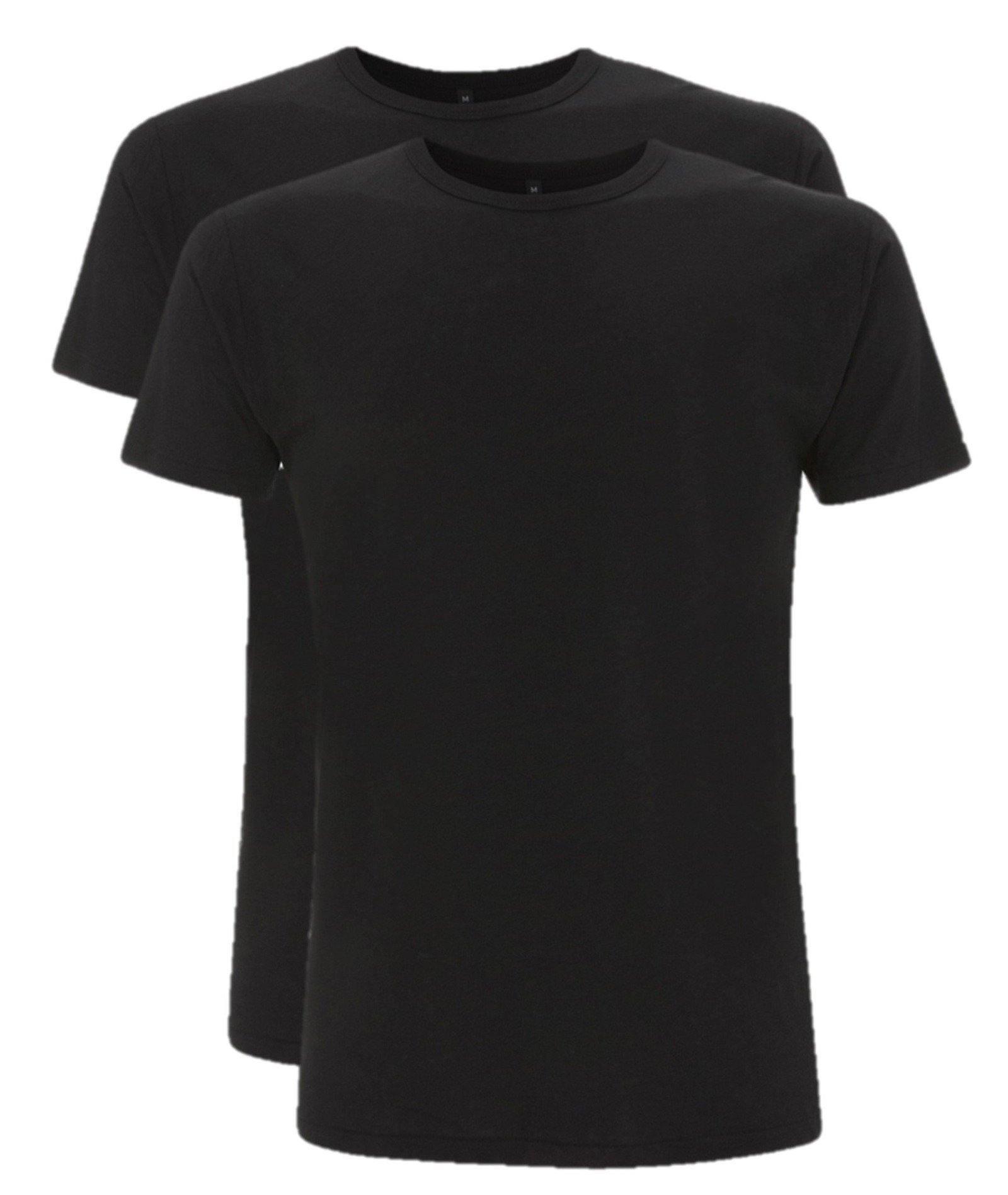 Bamboe t-shirt heren 2-pack Grijs