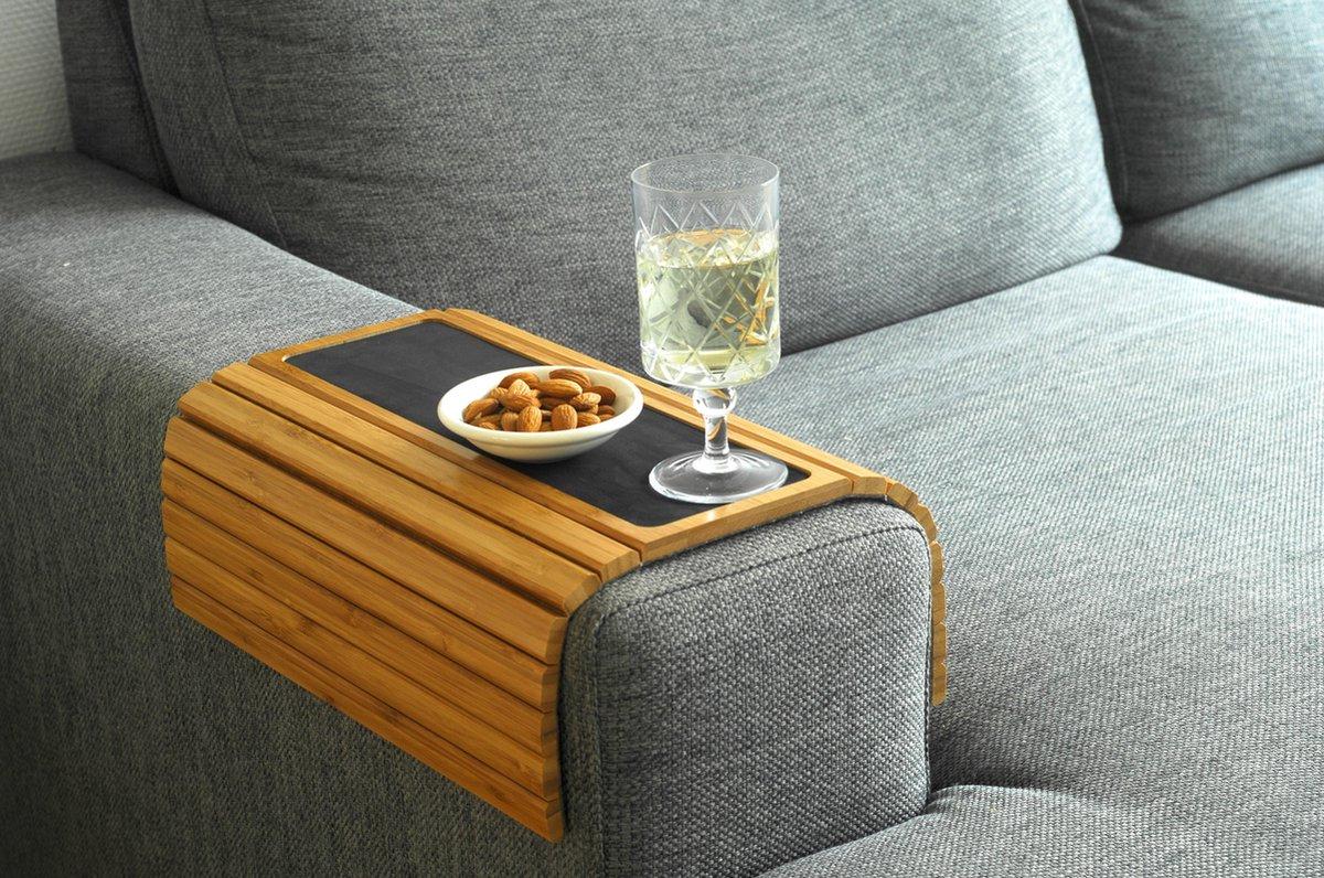 Kos Design Flexibel Dienblad - Bamboe - Beschermende Coating - Anti slip