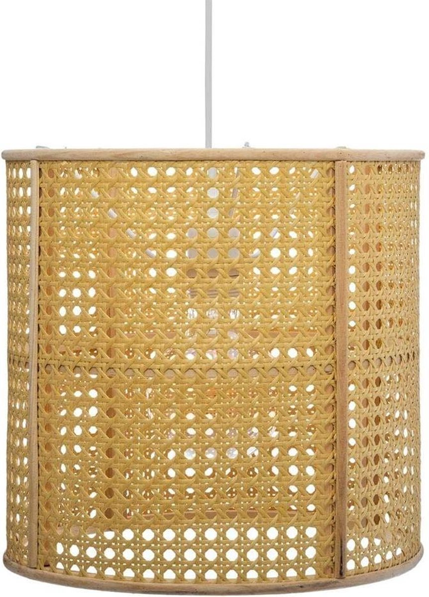Eazy Living Bamboe & Rotan Hanglamp Ø 28 cm Ria Beige
