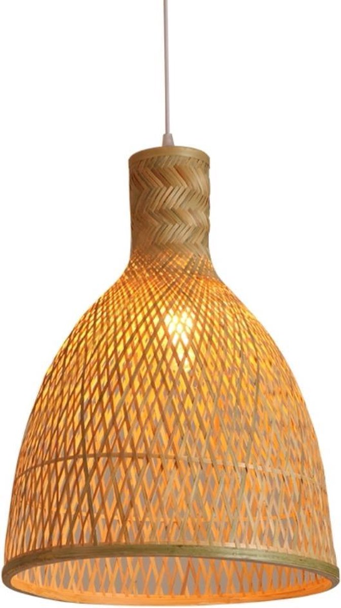 Fine Asianliving Bamboe Webbing Hanglamp Paige D35xH48cm